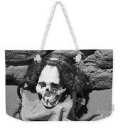 Preserved Remains In Nazca Weekender Tote Bag by Darcy Michaelchuk