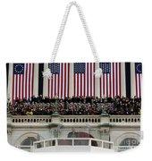 President George W. Bush Makes Weekender Tote Bag by Stocktrek Images