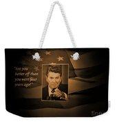 President Reagan Weekender Tote Bag