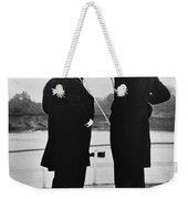 President Roosevelt And Gifford Pinchot Weekender Tote Bag