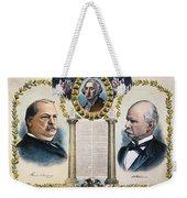 Presidential Campaign, 1892 Weekender Tote Bag