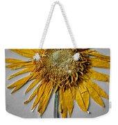 Pressed Sunshine Flower Weekender Tote Bag