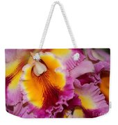 Pretty And Colorful Orchids Weekender Tote Bag