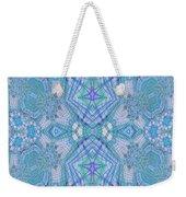 Pretty Blue Weekender Tote Bag