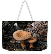 Pretty Mushrooms Weekender Tote Bag