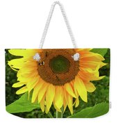 Pretty Sunflower  Weekender Tote Bag