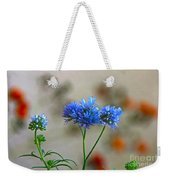 Pretty Weeds Weekender Tote Bag