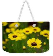 Pretty Yellow Weekender Tote Bag