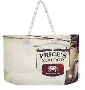 Price's Seafood Weekender Tote Bag