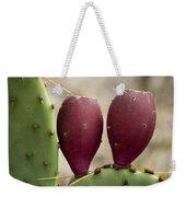 Prickly Pear Cactus Fruit Weekender Tote Bag