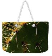 Prickly Pear Dangerous Beauty - Greeting Card Weekender Tote Bag