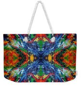 Primary Abstract I Design Weekender Tote Bag