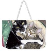 Princess And Little Rocky Weekender Tote Bag