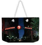 Printers Alley In Nashville Weekender Tote Bag