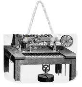 Printing Telegraph, 1873 Weekender Tote Bag