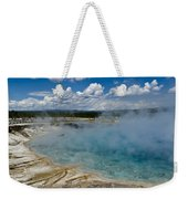 Prismatic Spring Yellowstone Weekender Tote Bag
