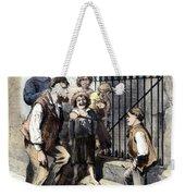 Prison: The Tombs, 1868 Weekender Tote Bag by Granger