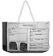 Prisoner Id Weekender Tote Bag
