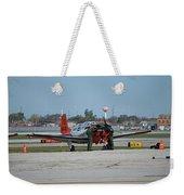 Propeller Plane Chicago Airplanes 09 Weekender Tote Bag