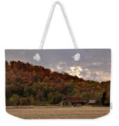 Protected By Hills Many Years Weekender Tote Bag
