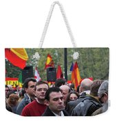 Protest In The Plaza Weekender Tote Bag
