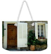 Provence Door Number 4 Weekender Tote Bag