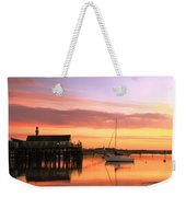 Provincetown Harbor Before Sunrise Weekender Tote Bag