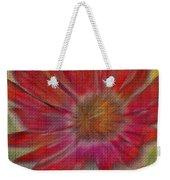 Psychedelic Flower Weekender Tote Bag