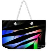 Psychedelic Palm Abstract Weekender Tote Bag