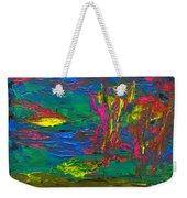 Psychedelic Sea Weekender Tote Bag