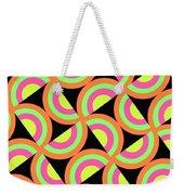 Psychedelic Squares Weekender Tote Bag