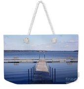 Public Dock On Chautauqua Lake Weekender Tote Bag