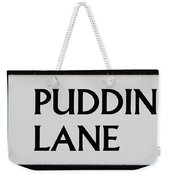 Pudding Lane Weekender Tote Bag