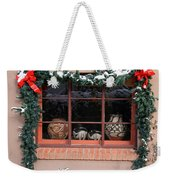 Pueblo Pottery Winter Window Weekender Tote Bag