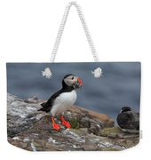 Puffin With Sand Eels Weekender Tote Bag