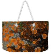 Pumpkin Abstract Weekender Tote Bag