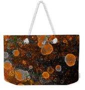 Pumpkin Abstract Square Weekender Tote Bag