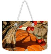 Pumpkin Berries Weekender Tote Bag
