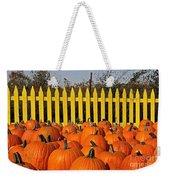 Pumpkin Corral Weekender Tote Bag