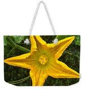 Pumpkin Flower 1 Weekender Tote Bag