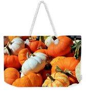 Pumpkin Harvest Weekender Tote Bag