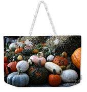 Pumpkin Piles Weekender Tote Bag