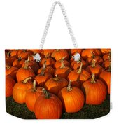 Pumpkin Strike Weekender Tote Bag