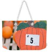 Pumpkins For Sale II Weekender Tote Bag