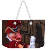 Punch And Judy Weekender Tote Bag