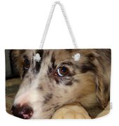 Puppy Face Weekender Tote Bag