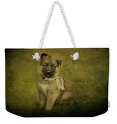 Puppy Sitting Weekender Tote Bag