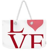 Pure Love Weekender Tote Bag