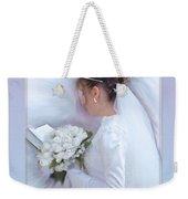 Pure Spotless Bride Weekender Tote Bag