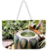 Purification Basin For Tea Ceremony Weekender Tote Bag